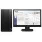 HP Bundle DT-PRO A MT AMD Ryzen3 Pro,  4GB,  500GB,  DVD-RW,  1yw,  USB kbd / mouse,  FreeDOS,  1-1-1 Wty,  Monitor V214.7