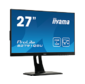 "Монитор жидкокристаллический Iiyama Монитор LCD 27"" [16:9] 2560 х 1440 TN, non GLARE, 300cd/m2, H170°/V160°, 1000:1, 12М:1, 1ms, VGA, HDMI, DP, USB-Hub, Height adj., Pivot, Tilt, HAS, Speakers, Swivel, 3Y, Black"