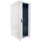 Шкаф телекоммуникационный напольный ЭКОНОМ 30U  (600  800) дверь стекло,  дверь металл