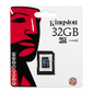 "Флэш карта Kingston ""SDC4 / 32GBSP"" microSD HC 32 Gb class4 no adapter"