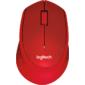 Мышь Logitech M330 SILENT PLUS - RED - 2.4GHZ - EMEA