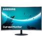 "Монитор Samsung 27"" C27T550FDI черный VA LED 16:9 HDMI матовая 3000:1 250cd 178гр / 178гр 1920x1080 D-Sub DisplayPort FHD 5.1кг"