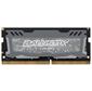 Crucial DRAM 8GB DDR4 2400 MT / s  (PC4-19200) CL16 SR x8 Unbuffered SODIMM 260pin Ballistix Sport LT DDR 4 SODIMM - Grey,  EAN: 649528778468