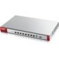 ZyXEL USG1100. Производительный центр безопасности с восемью конфигурируемыми гигабитными интерфейсами в комплекте с подпиской на сервисы AS,  AV,  CF,  IDP сроком на 1 год