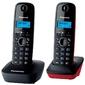 "Радиотелефон Panasonic ""KX-TG1612RU3"",  DECT,  с опред.номера,  доп.трубка,  черно-серый"