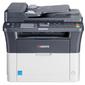 Лазерный копир-принтер-сканер-факс Kyocera FS-1120MFP  (А4,  20 ppm,  1200dpi,  25-400%,  64Mb,  USB,  цв. сканер,  факс,  автоподатчик,  тонер)