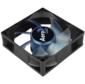 Вентилятор Aerocool Motion 8 Blue-3P 80x80x25mm 3-pin 27dB 90gr LED Ret