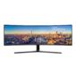 "Монитор Samsung 49"" C49J890DKI черный VA LED 5ms 32:9 HDMI M / M матовая HAS 3000:1 300cd 178гр / 178гр 3840x1080 DisplayPort FHD USB 20.8кг"